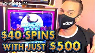 $40 SPINS using only $500 CASH  CHALLENGE TIME!