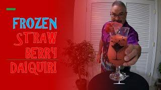 How I Make A Strawberry Daiquiri
