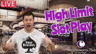 3 Jackpots Hit Live  $8,500 High Limit Slot Play from The Cosmopolitan of Las Vegas