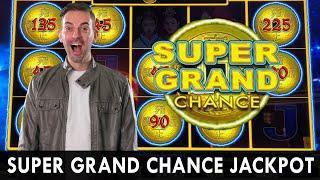 Landing  Super Grand Chance JACKPOT   Emperor's Treasure