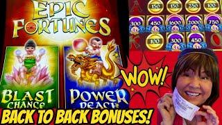Winning Epic Fortunes! Back to Back Bonuses