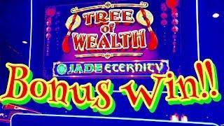 **NEW SLOT** TREE of WEALTH SLOT (JADE ETERNITY) BONUS, JACKPOT WIN, LIVE PLAY, BY BALLY