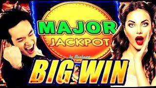 • MAJOR JACKPOT •  I LOW ROLL and I WON!! DRAGON LINK slot machine BONUS WINS and MORE !