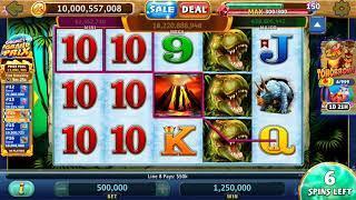 BIG REX Video Slot Casino Game with a FREE SPIN BONUS