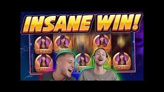 RECORD WIN!!! CAZINO COSMOS BIG WIN - HUGE WIN from CasinoDaddy Live Stream