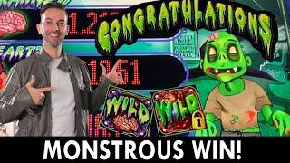 MONSTROUS WIN! ‍️ Better Off Ed Slot Win  Seven Feathers #ad