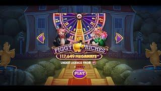 PIGGY RICHES MEGAWAYS (NETENT/RED TIGER) ONLINE SLOT