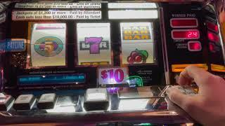 5 Times Pay - Blazing 7's - High Limit Old School Slot Play