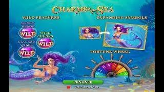 Charms of the Sea Online Slot from Playtech