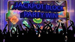 Jackpot Block Party  Bonus Round Brings The Raja A Jackpot!  | The Big Jackpot