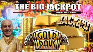 TRIPLE JACKPOTS! Gold Pays Slot Machine $68 BETS!!! | The Big Jackpot