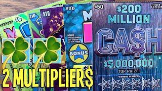 2 MULTIPLIER$!  $140/Tickets  $50, $20, $10, $5, $2 TEXAS Lottery Scratch Offs