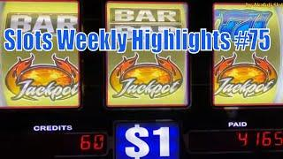 Slots Weekly Highlights #75 For you who are busy Jackpot Again Again High Limit Slots 赤富士スロット