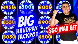 BIG HANDPAY JACKPOT On The Vault Slot | Winning Mega Bucks At Casino | SE-12 | EP-24