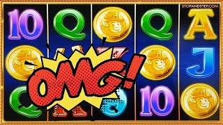 Luck O the Irish Free Spins 4 SCATTERS!! & MASSIVE WIN on Wildfire!!
