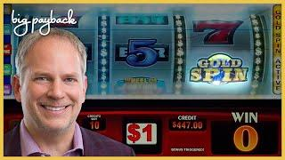 I GOT THE GOLD SPIN! Wheel of Fortune Gold Spin Slot - AWESOME COMEBACK!