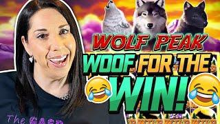 """SLOT QUEEN DECIDES TO PLAY ALL """"WOOF"""" GAMES !! OHHH BOY...."""