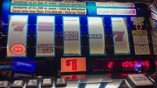 Double Diamond 9 Line - $45/Spin - Old School High Limit Slot Play