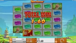Wins of Fortune slot from Quickspin - Gameplay