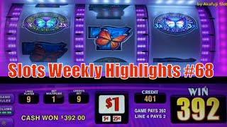 Slots Weekly Highlights #68 For you who are busy Triple Double Butterfly - 9 Lines @ San Manuel