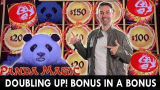 MAGIC PANDA - Doubling UP on a Bonus in the Bonus with BOYD PAY!