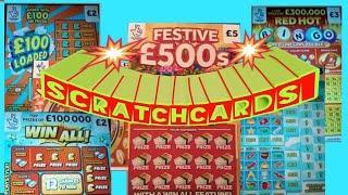 WIN ALL...FESTIVE £500s..WONDERLINES..REDHOT BINGO..£100 LOADED..MONEY SPINNER.
