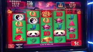 VGT Lucky Ducky Polar High Roller Handpay China Shores Free Games Choctaw Gambling Casino Durant