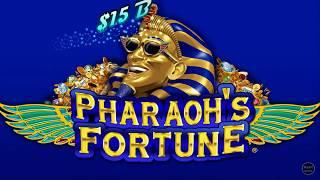 LIVE PLAY AND BONUSES  BUFFALO GOLD  CASH ILLUSIONS  PHARAOHS FORTUNE HIGH LIMIT SLOT MACHINE