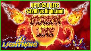 $3200 vs High Limit Slot Lightning Link & Dragon Link Live Play From Casino