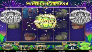 Play'n Go - Samba Carnival Video Slot - Multiplying Wilds & Bonus Scatters