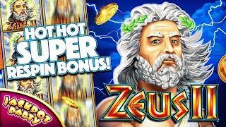 Play Zeus II with Jackpot Party Casino!
