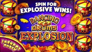 Major Jackpot in Dancing Drums Explosion!  | Jackpot Party Casino