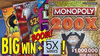 The COMEBACK  BIG WIN + 5X!  $120 TEXAS LOTTERY Scratch Offs