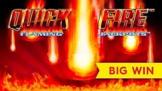 UP TO $10 BETS! Quick Fire Flaming Jackpots Electric Boogaloo Slot!