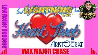Heart Throb Major Chase Small Bet Bonuses Only