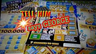 •George..says..•..Tell Him...•.Scratchcards...•...& Pig•...Porky•.....•night Classic•