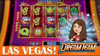 Max Bet Dancing Drums Prosperity & Gong Xi Fa Cai *New Slot Version* - Aria Las Vegas and Bellagio!
