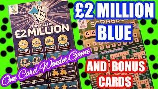 £2 Million Big Daddy Scratchcard......and BONUS Card..  mmmmmmMMM