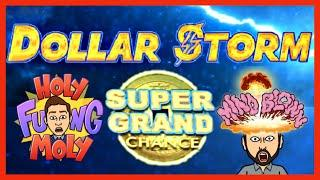 We FREAKED OUT When The SUPER GRAND JACKPOT CHANCE LANDED! Emperor's Treasure Dollar Storm!