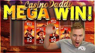 MEGA WIN! Desperados Wild Megaways Big win - HUGE WIN - Casino Games from Casinodaddy Live Stream