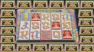 ME, WIFE, & CLEOPATRA $25 BET HIGH LIMIT BONUS/BIG WINS/ LIVE PLAY!!!