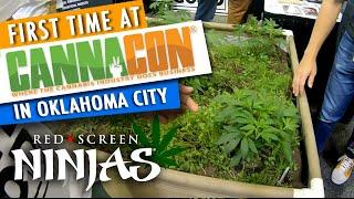 VGT SLOTS - CANNACON 2019 - OKLAHOMA CITY 4/19 CANNABIS EXPO WITH RED SCREEN NINJAS