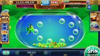 GOLD FISH DELUXE Video Slot Casino Game with a PICK A BUBBLE BONUS