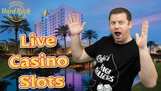 Live Casino Slot Play  Viewers Choice Live Stream from The Seminole Rock in Tampa