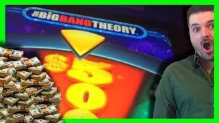 JACKPOT MULIVERSE! TOO MUCH WINNING! Big Bang Theory Slot Machine Massive Winning W/ SDGuy1234
