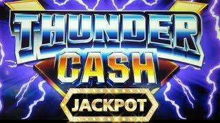 THUNDER JACKPOT HUGE WINS | BONUS RETRIGGER | HIGH LIMIT SLOT MACHINE