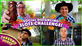 Jackpot Party Casino Social Distancing Slots Challenge!