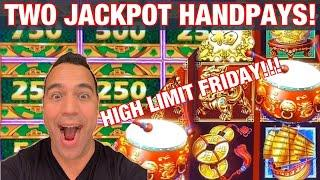 $5000 HIGH LIMIT FRIDAY    | MIGHTY CASH JACKPOT!!  | DANCING DRUMS HANDPAY!!