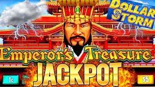 High Limit Dollar Storm Slot Machine HANDPAY JACKPOT   My 1st Ever Handpay On New Dollar Storm Slot