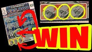 £200 SCRATCHCARD GAME..£100 BONUS..MONOPOLY.. CASH 7s..DOUBLER..£100,000 RED..LON DOUBLER